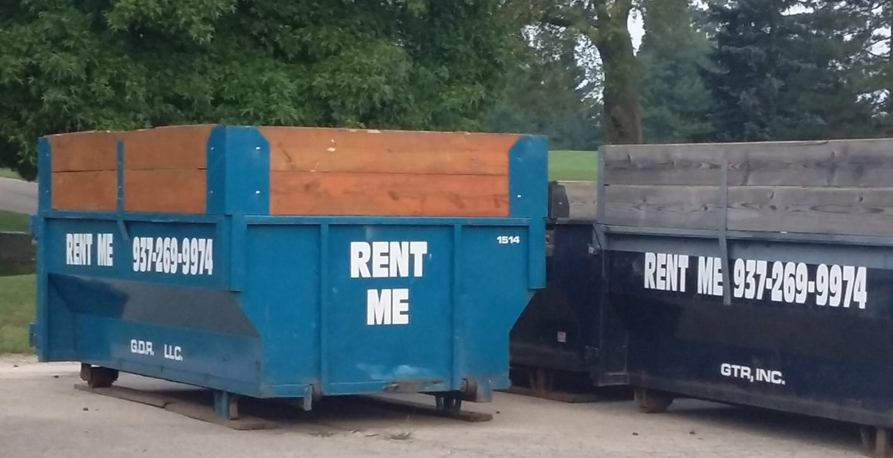 Xenia's #1 Dumpster Rental Serving the Miami Valley